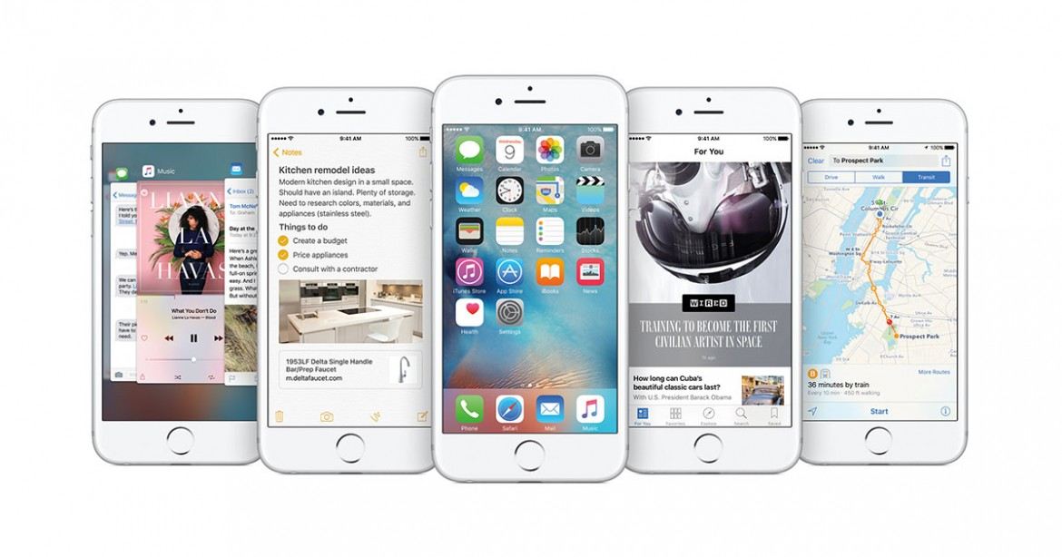 Apple released iOS 9.0 upgrade