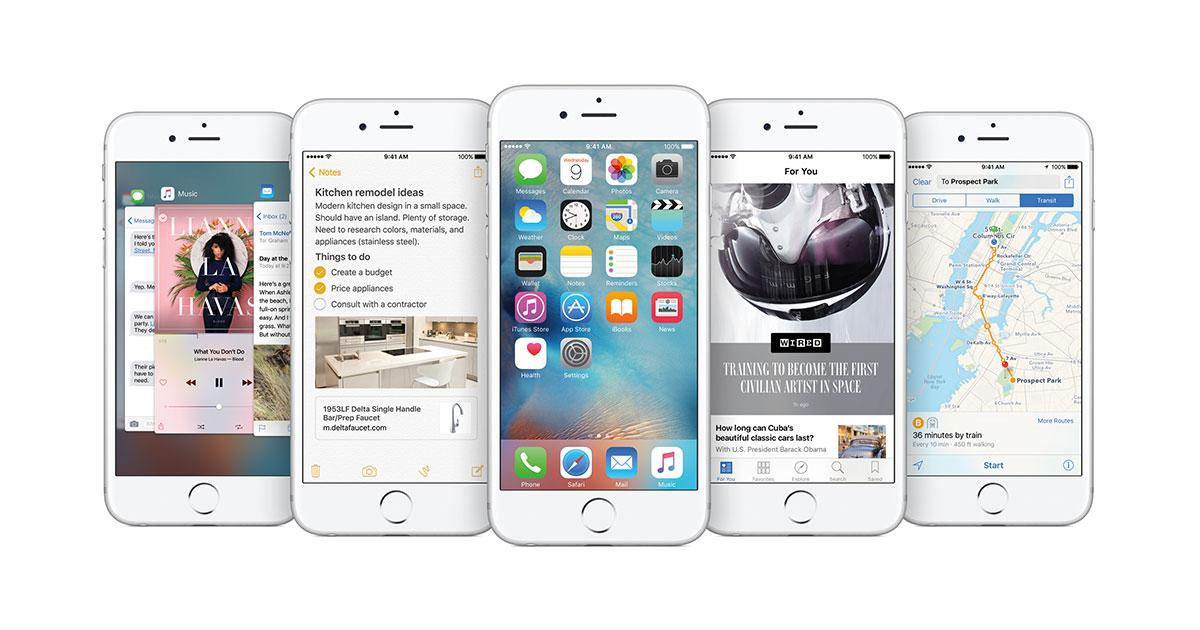 Apple released iOS 9.0 upgrade