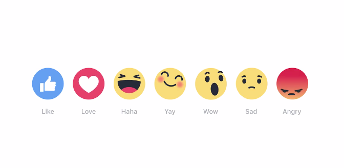 "Facebook ""Reaction"" button"